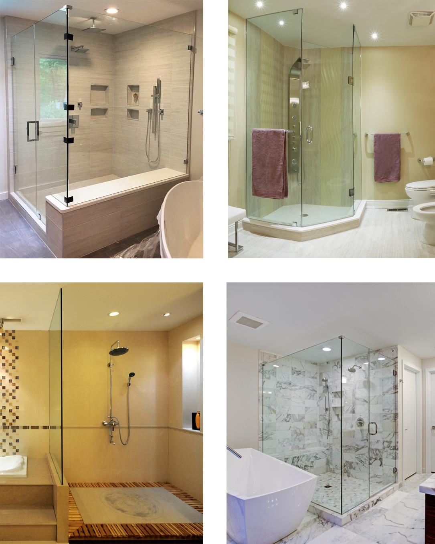 Frameless Shower Doors Arlington Va Custom Shower Glass