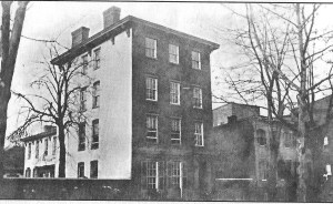 Mary Ann Hall's house at 349 Maryland Ave, SW in DC