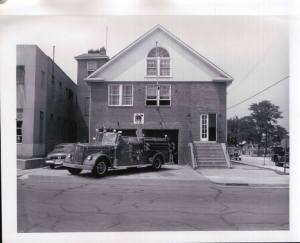 Fire Station 5 at 23rd and South Eads c. 1930 (Courtesy, I Grew Up in Arlington)