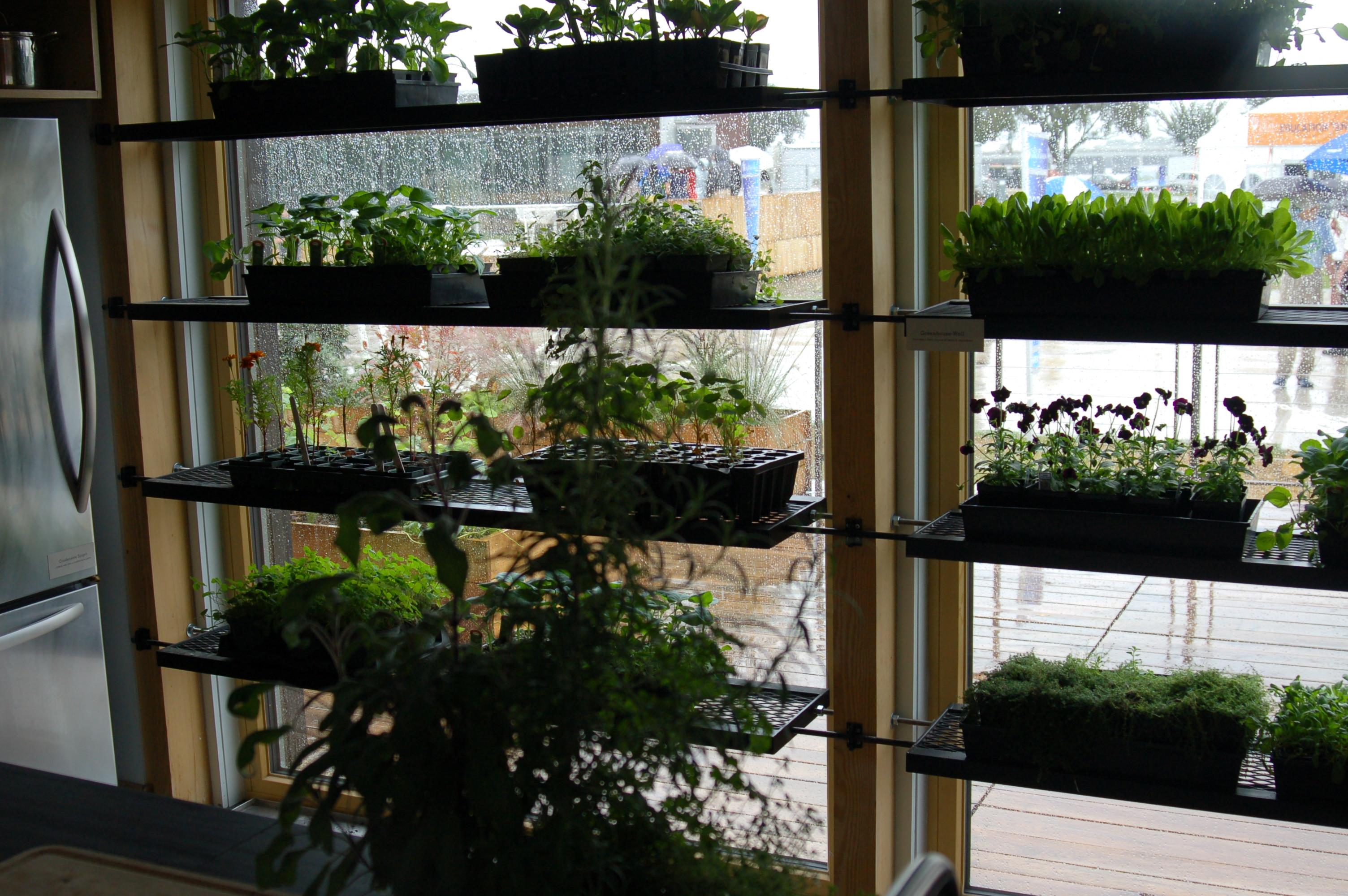 kitchen greenhouse window kohler faucet solar decathlon 2011 in a deluge arlington passivhaus
