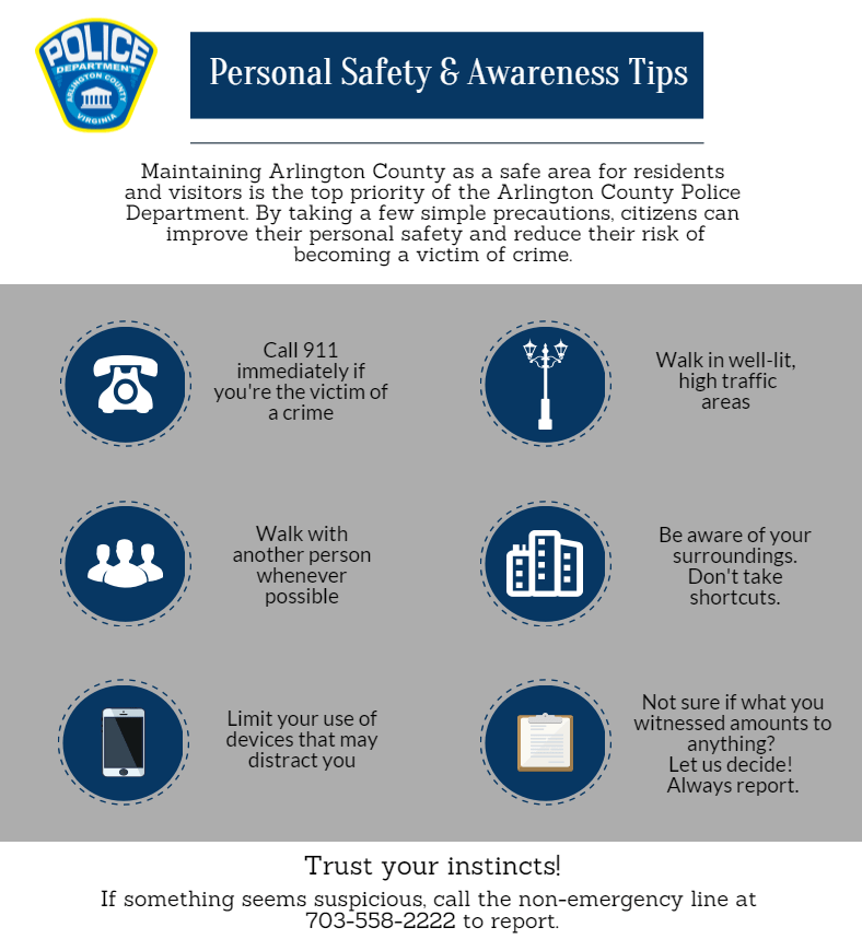Personal Security Tips