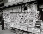 Newsstand, 32nd Street and Third Avenue, Manhattan, 1935. Photo Berenice Abbott. Available at: NYPL Digital Collections.