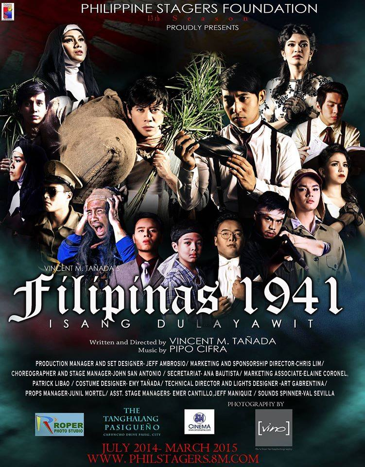 A must-see for every Juan: 'Filipinas 1941' a musical stage play fusing history with bits of comedy (1/6)