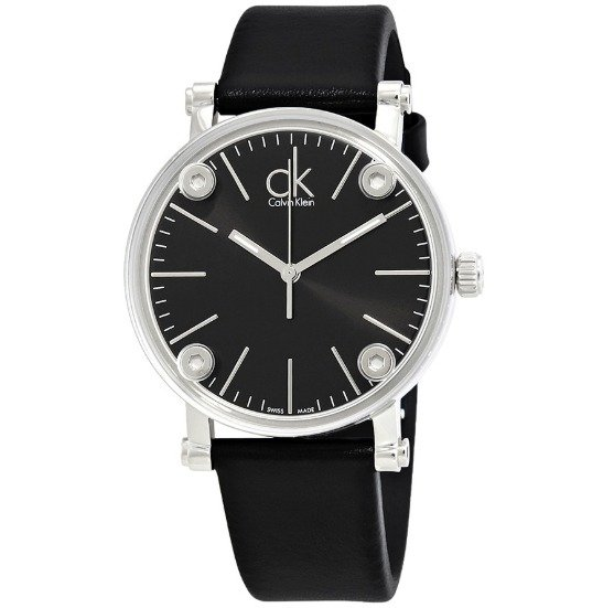 Calvin Klein Cogent Black Dial Ladies Watch K3B231C1 Calvin Klein Watches