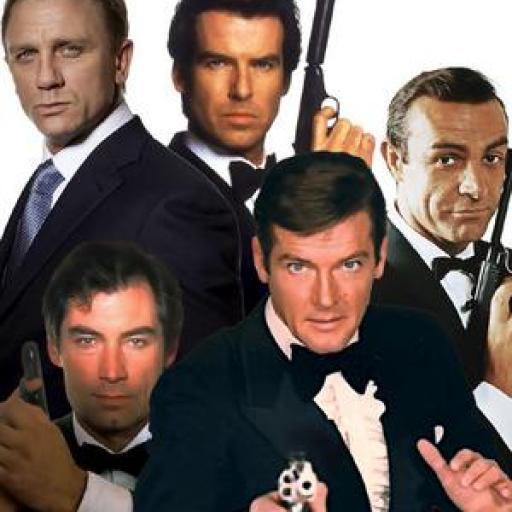 James Bond 50's To Now