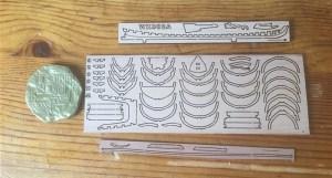 Шпангоуты и килевая рамка пинаса