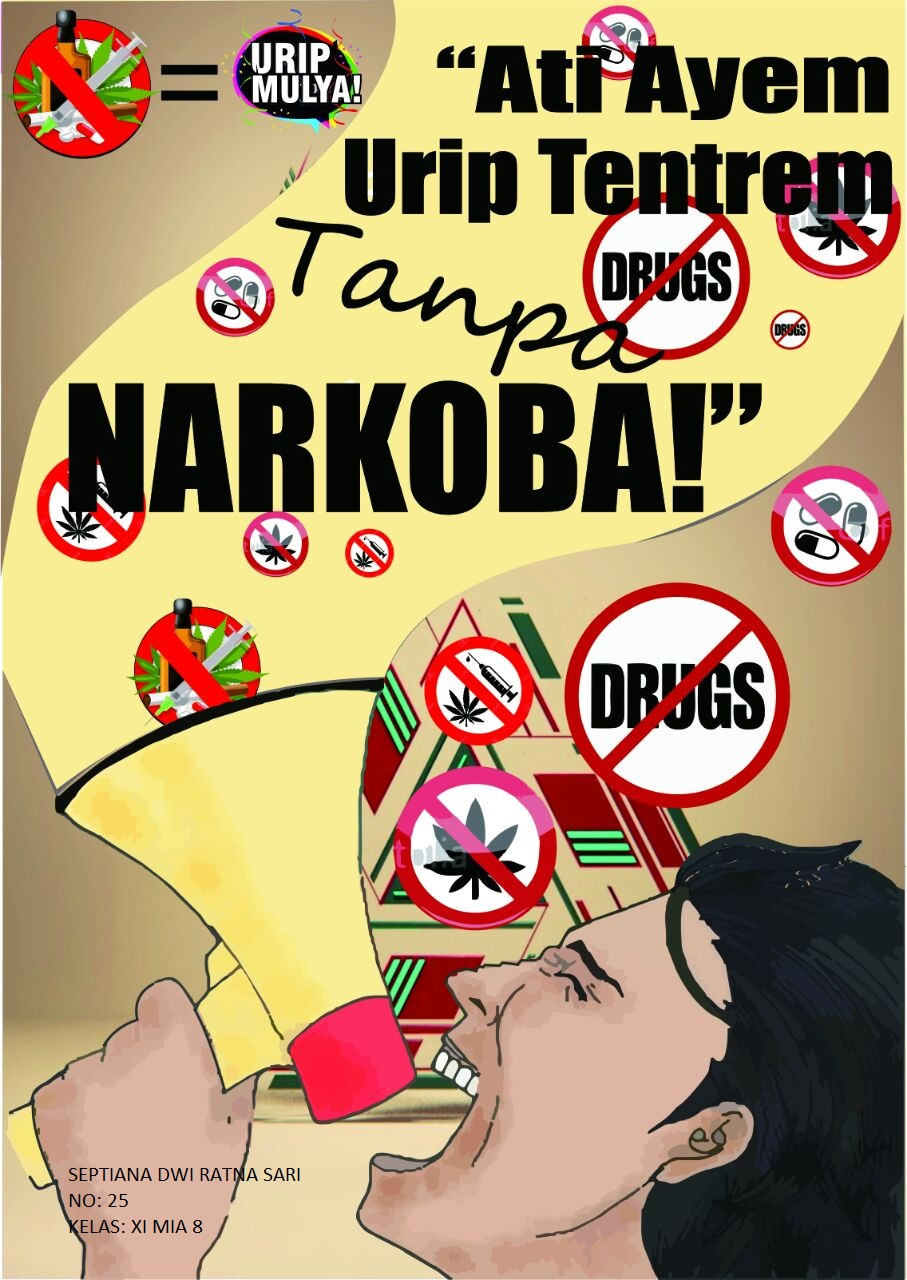poster anti narkoba bahasa jawa  armadarizalixf