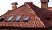 Ceramic roofing tile (Clay tile roof)