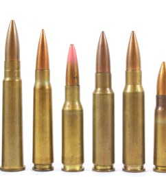 various cartridges were developed alongside these weapons some of which are pictured in figure 1 1  [ 6480 x 3446 Pixel ]