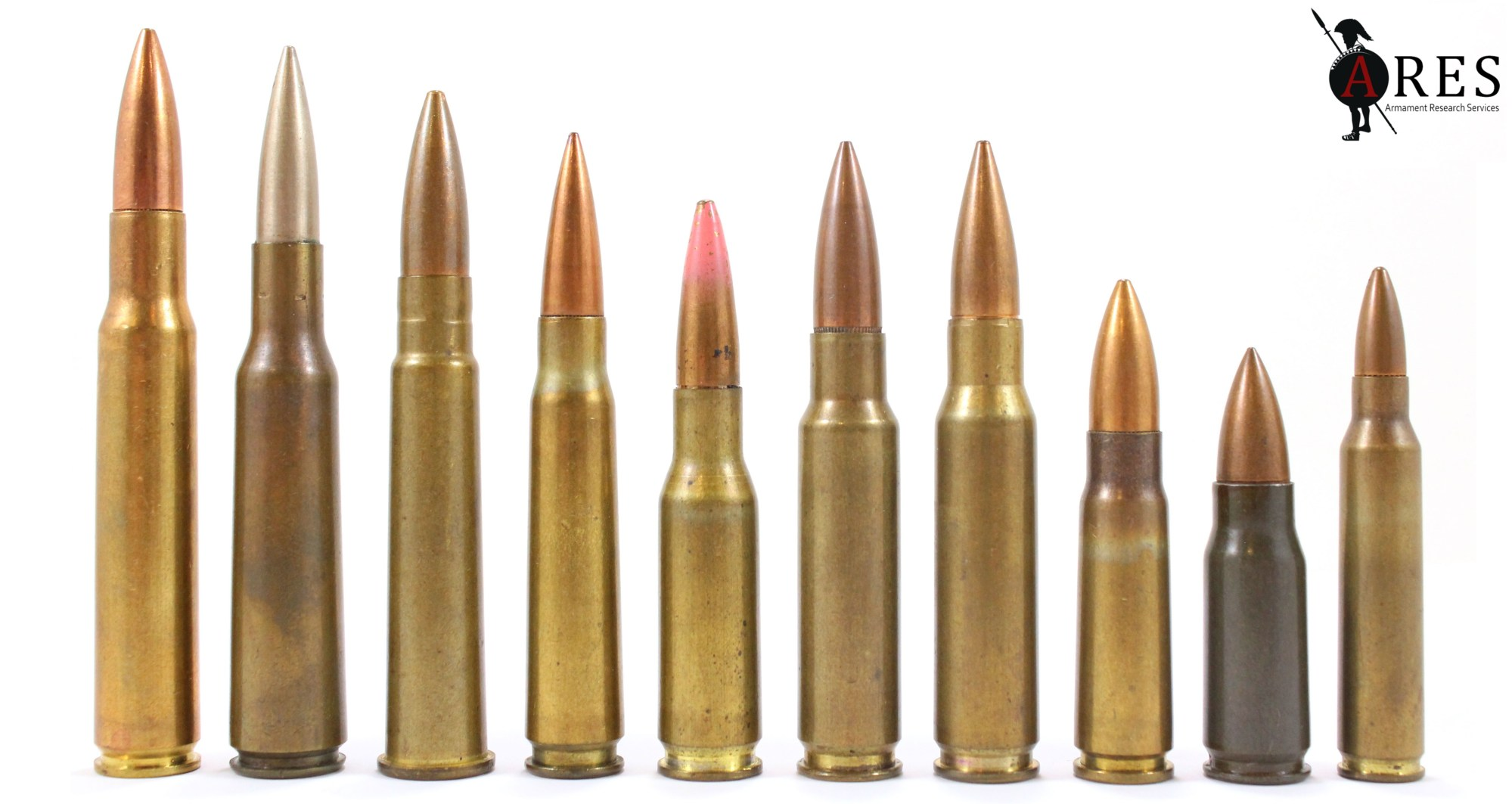 hight resolution of various cartridges were developed alongside these weapons some of which are pictured in figure 1 1