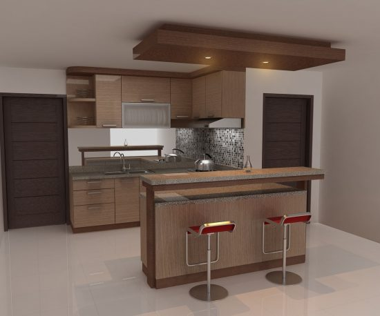Contoh Kitchen Set Mini Bar