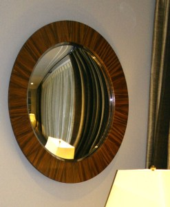 Custom convex mirrors by Armand Lee