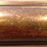 22K GOLD, ANTIQUE BRONZE, LIGHT