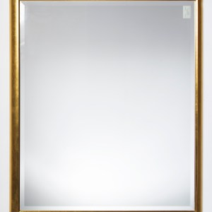 Simple Gold Frame Mirror