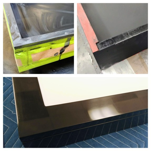 Custom lacquer finishes