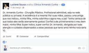 Depoimento Luciene Sousa prótese de mama brasilia df