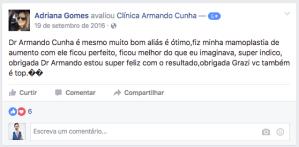 depoimento Adriana Gomes cirurgia plastica