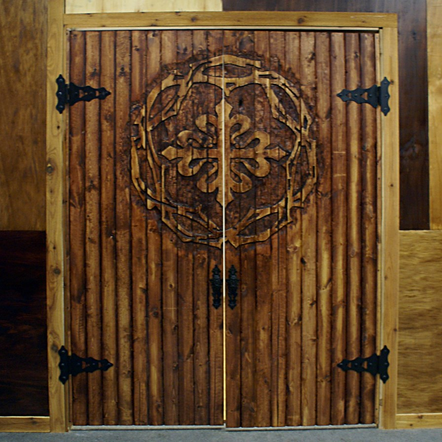 Custom Made Hand Carved Doors for Tapestry in Granite City, IL.