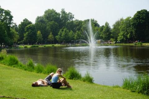 Voldenpark en verano