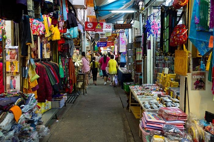 Compras en Chatuchak Market, qué hacer en Bangkok