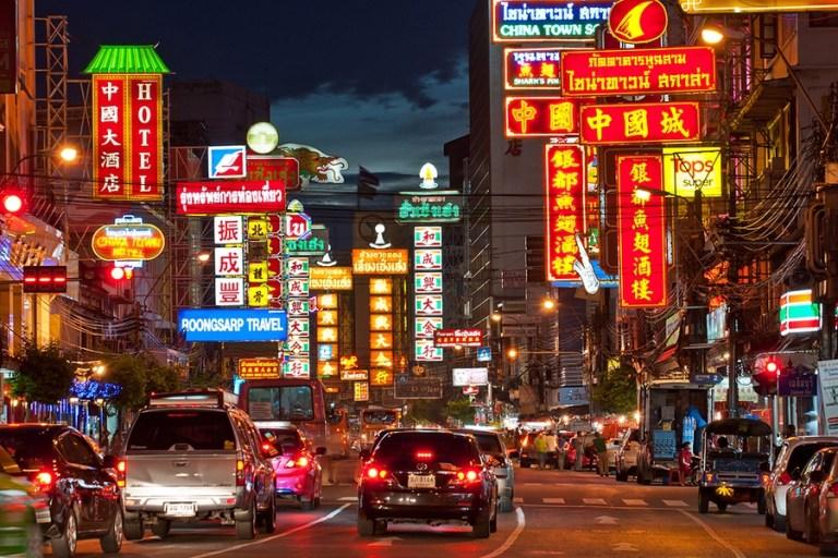Chinatown, el barrio chino en Bangkok