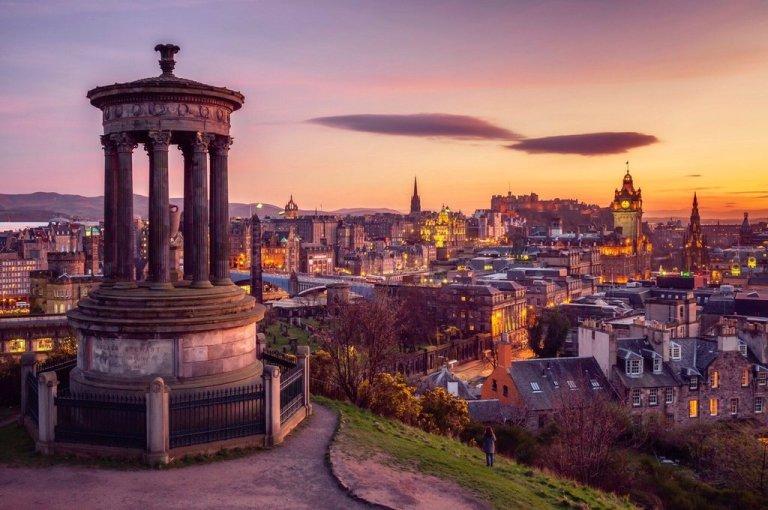 Calton Hill, qué ver en Edimburgo