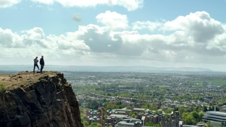 Qué ver en Edimburgo: Maravillosa vista desde la colina Arthur Seats