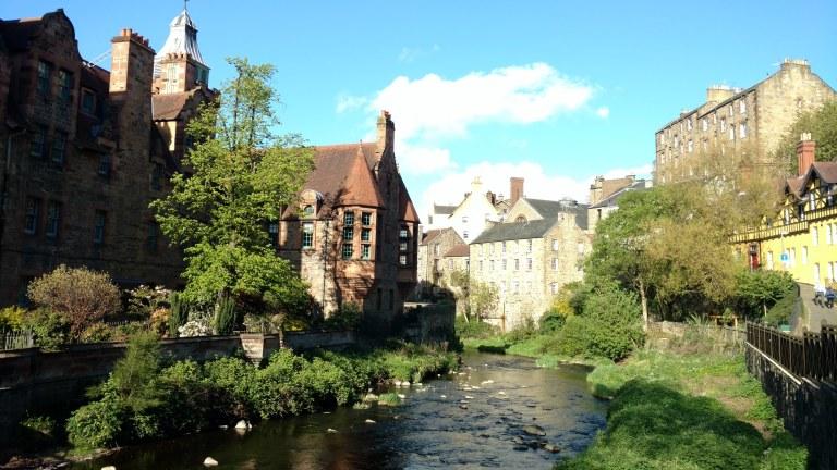 Dean Village, una joya escondida que ver en Edimburgo