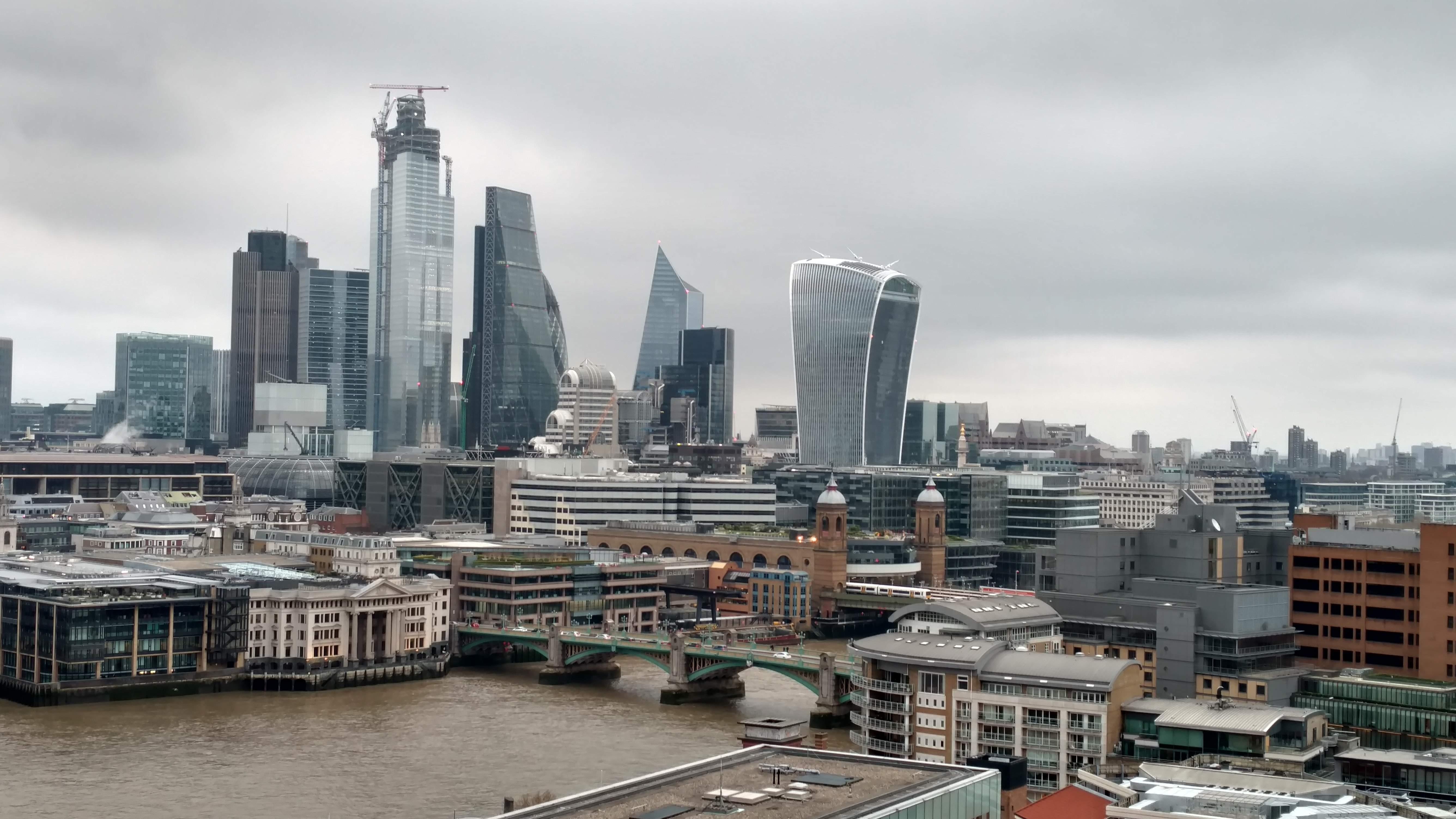 Vista desde el Tate Modern Museum