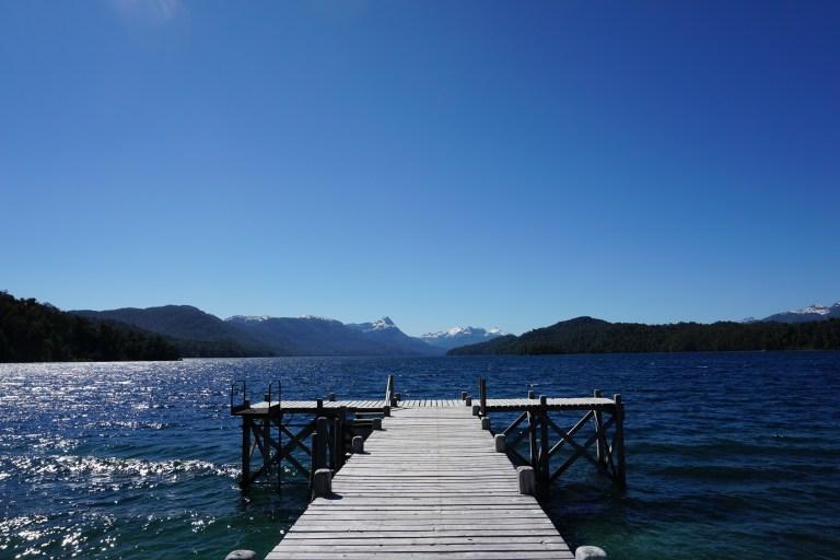 Muelle Lago Espejo