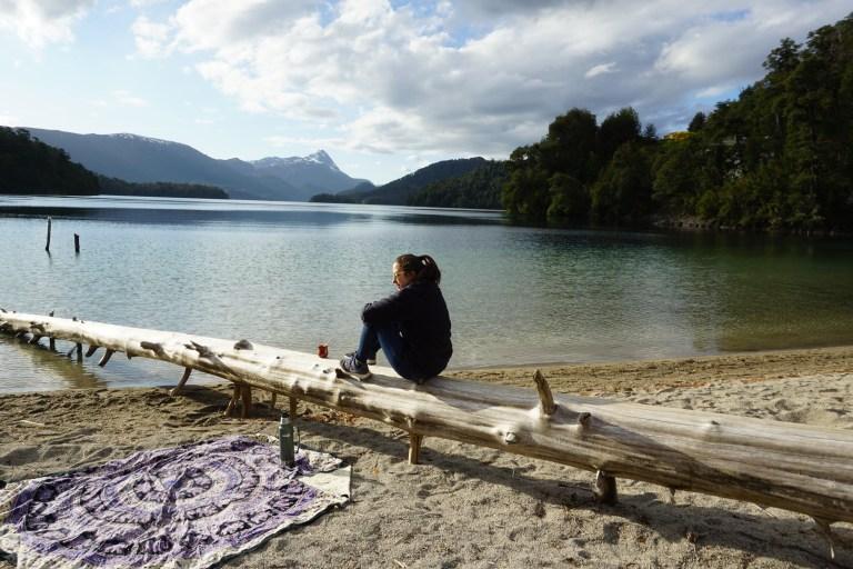 Disfrutando Lago Espejo