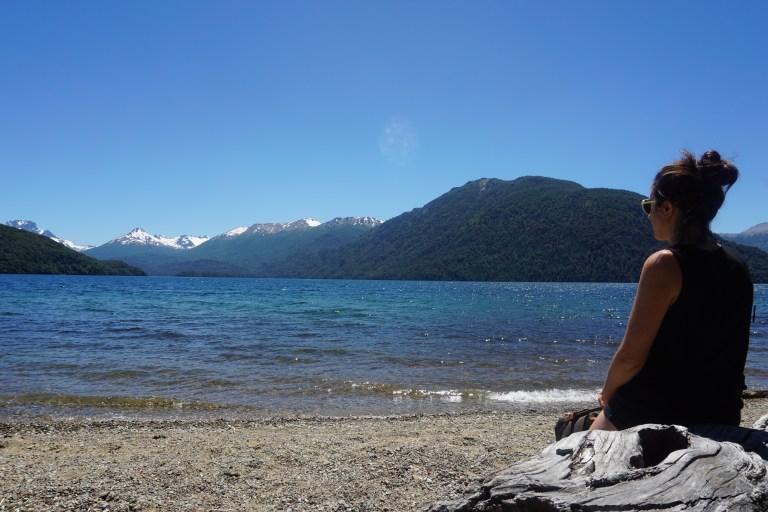 Playa Negra, Lago Mascardi, lugares para visitar en Bariloche en verano