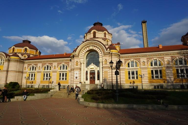 Museo Regional de Historia en Sofia Bulgaria