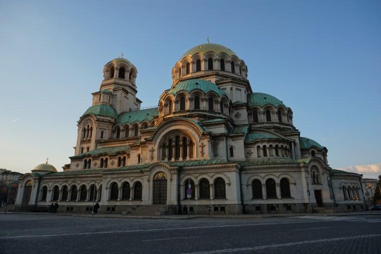 Catedral Alexander Nevsky en Sofía Bulgaria