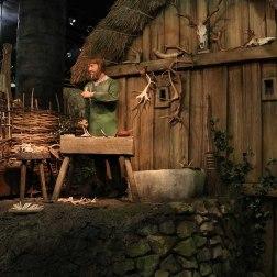 Representación de las tradiciones y costymbres vikingas en York