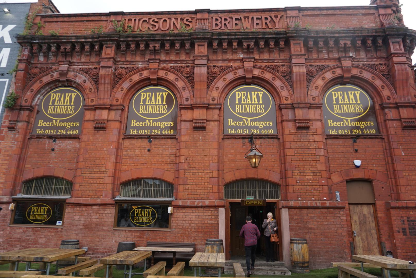 El Bar temático de Peaky Blinders, que ver en Liverpool