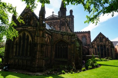 La bella catedral de Chester