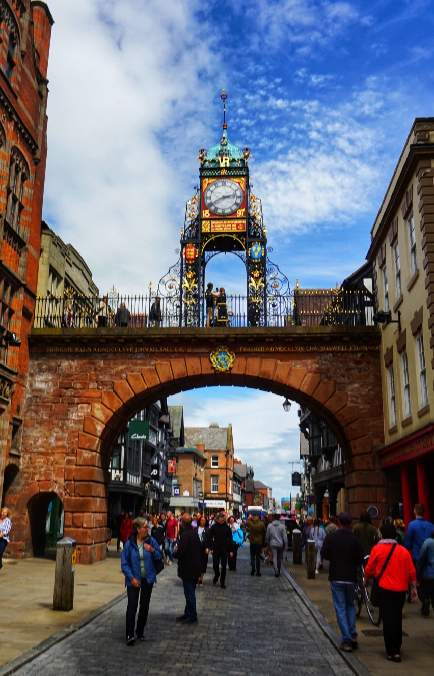 East Gate Clock, uno de los imperdibles que ver en Chester