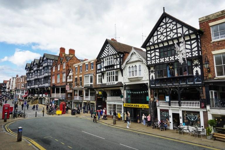 The Rows, construcciones de la época medieval que ver en Chester