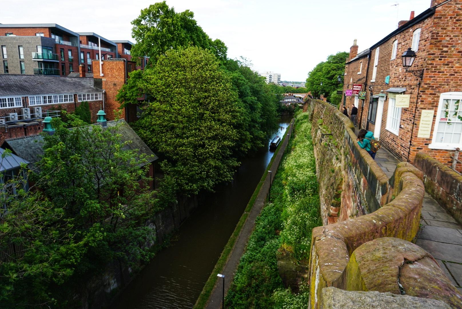 Parte de la muralla de Chester, que ver en Chester