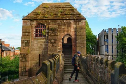 Torres de la muralla de Chester
