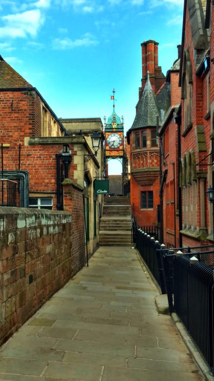 East Gate Clock desde la muralla, Qué ver en Chester