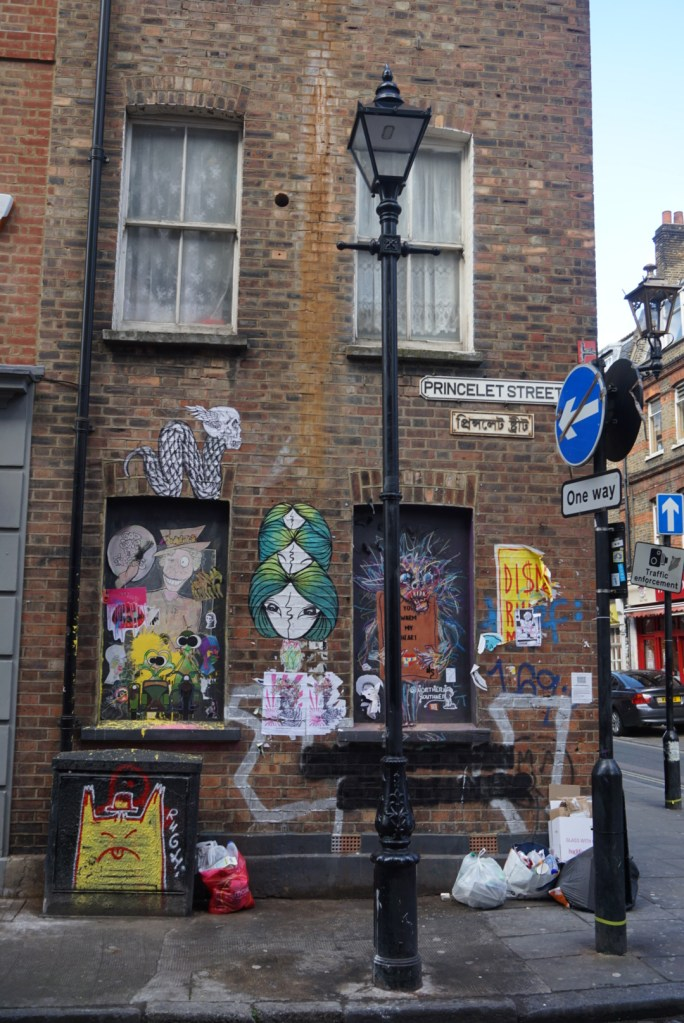 Brick Lane St, qué hacer en Londres