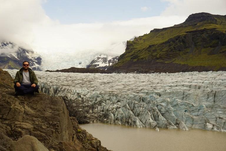 Glaciar Svínafellsjökull