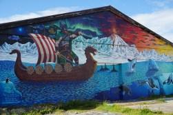 Hellissandur street art