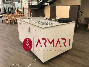 Mueble de cocina movil