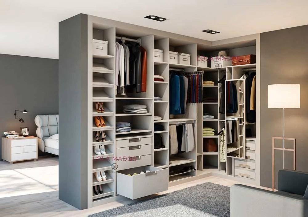 hacer vestidor armario empotrado en una habitacin  Lola