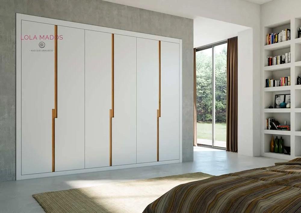 Puertas para armarios empotrados blancos a medida  Lola Mados