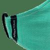 Mascarilla liso verde 4