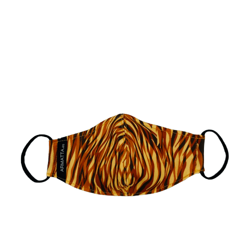 Mascarilla ondas naranjas 5